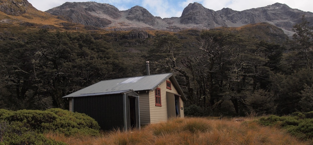 Blue Lake Hut, Nelson Lakes National Park