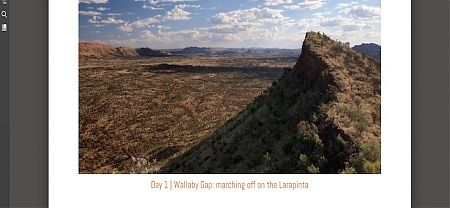 Larapinta Trail ebook image