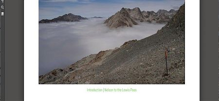 Nelson to Lewis Pass ebook image