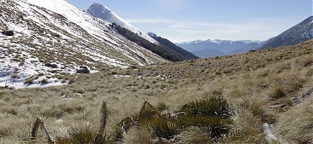 Day 2, it's up and over Cass Saddle, ie, no big thing. |  Arthurs Pass blog