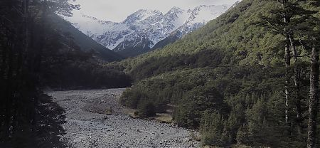 On the 7th day he rested and had this view to look out at. |  Arthurs Pass blog