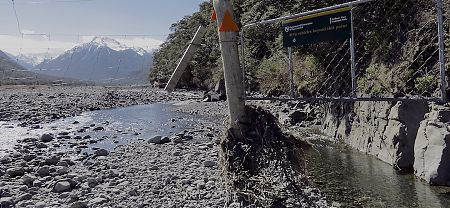 Day 8, seems the river has changed its course around here recently. |  Arthurs Pass blog