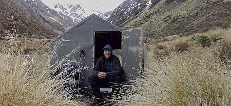 Looking somewhat bleak in the morning, the temp is about 1ºC. |  Arthurs Pass blog