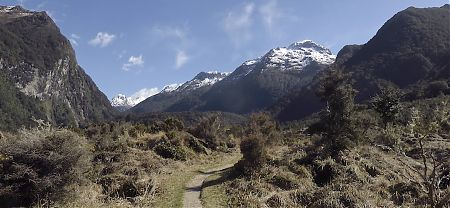 Hey, I just came down from there.  | Iris Burn valley, Kepler Track, Fiordland National Park