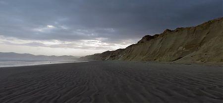 Early morning on the Mason Bay beach. | Southern Circuit, Stewart Island