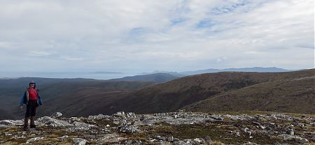 You really feel inspired standing out here on your lonesome. | Tin Range route, Stewart Island