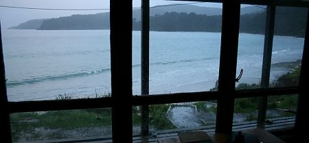 Big Bungaree Bay from the well located hut | Rakiura National Park, Stewart Island