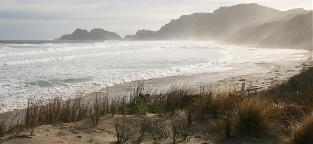 West Ruggedy Beach on the west coast | Rakiura National Park, Stewart Island