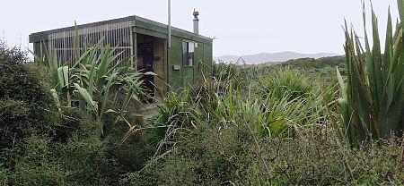   Martins Creek Hunters hut, Rakiura National Park, Stewart Island