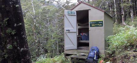 Upper D'Urville Bivvy, Nelson Lakes National Park