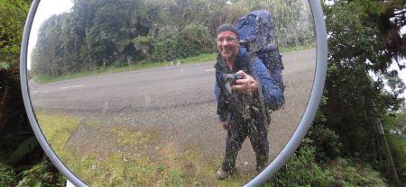 GJ Coop on Stewart Island