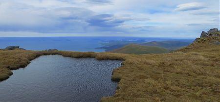 Halfmoon Bay from Mt Anglem / Hananui, Stewart Island