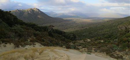 Benson Peak from Hellfire Pass, Stewart Island