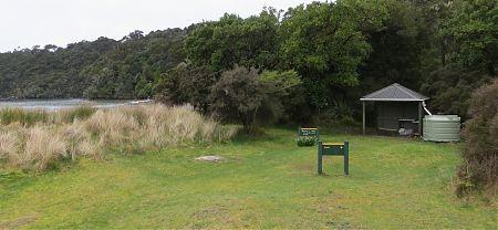Maori Beach Campsite, Rakiura Track, Stewart Island