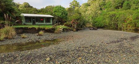 Yankee River Hut, North-west Circuit, Stewart Island