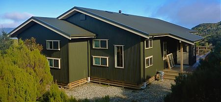 The new 5 star hut. photo by David Guppy   James MacKay Hut, Heaphy Track, Kahurangi National Park