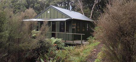 East Ruggedy Hut, North-west Circuit, Stewart Island