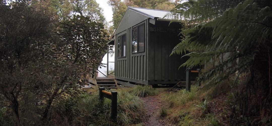 Big Hellfire Hut, North-west Circuit, Stewart Island