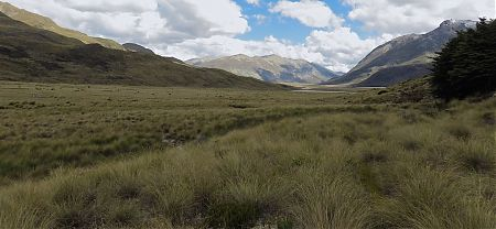 Almost to Taipo Hut on the Mavora Walkway. | Queenstown to Bluff, Te Araroa