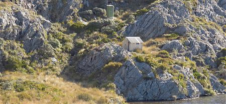 It's sure a great setting. |  Adelaide Tarn Hut, Kahurangi National Park