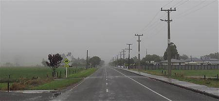 A gloomy day after the heavy morning rain. | Karamea