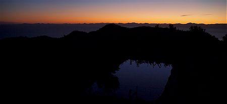 Yeah, that sunrise is entirely amazing.   Holyoake Shelter,  Abel Tasman National Park