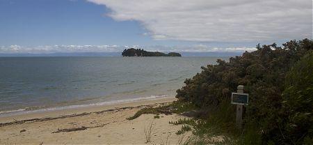 Appletree Bay campsite, Coastal Track, Abel Tasman National Park