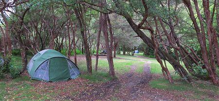 Onetahuti campsite, Coastal Track, Abel Tasman National Park