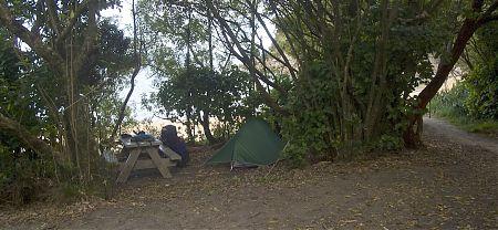Te Puketea campsite, Coastal Track, Abel Tasman National Park