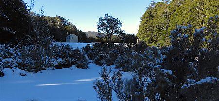 Day 6. Old Man Hut was cold!! | winter trip, Alpine Route, Mt Richmond Forest Park