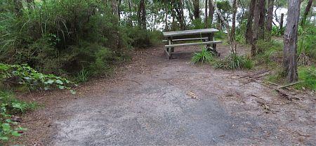 Torrent Bay campsite, Coastal Track, Abel Tasman National Park