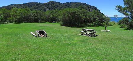 Totaranui campsite, Coastal Track, Abel Tasman National Park