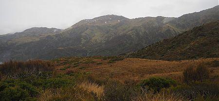 Looking across Zit Stream to Adventure Biv and Zit Saddle. |  Frew/Toaroha Saddles, Westland