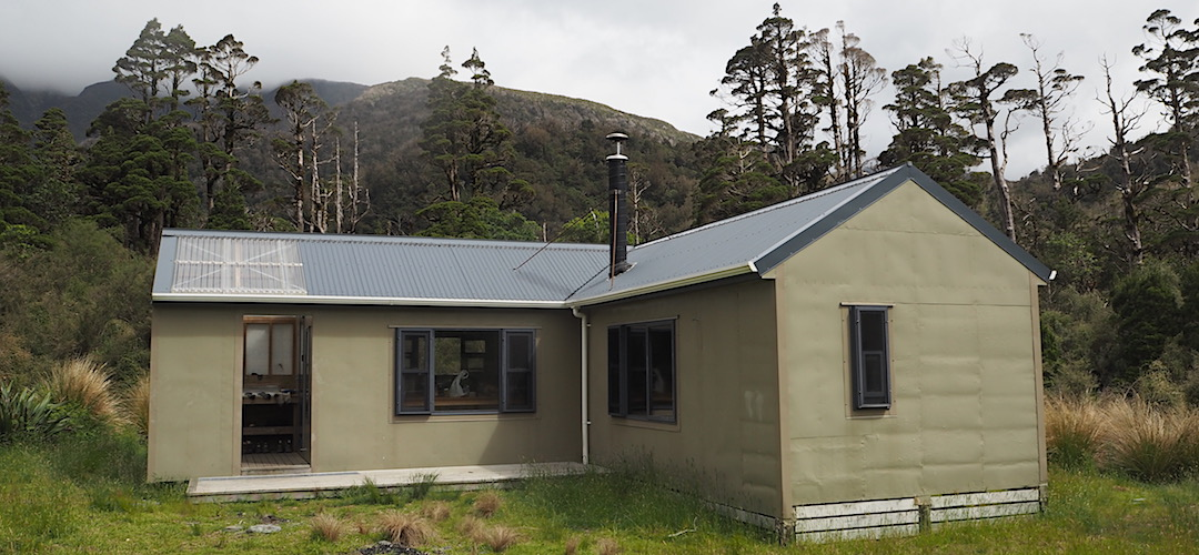 The original hut was majorly extended recently, and totally upgraded. | Cedar Flats Hut, Toaroha River, West Coast