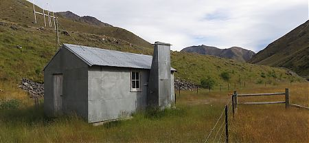This hut is not for use by the public. It's still a working farm's hut for musterers'. | Team Hut, Saxton River