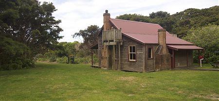 Whariwharangi Hut, Coastal Track, Abel Tasman National Park