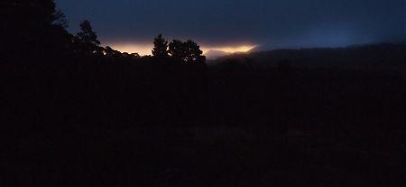 sunrise at Salisbury Lodge