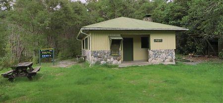 Brown hut camping, Heaphy Track, Kahurangi National Park