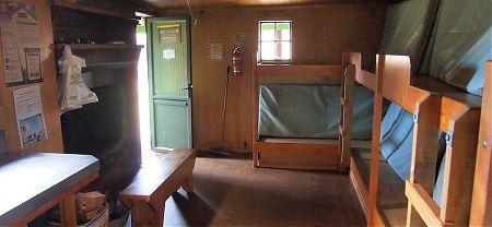 Gouland Downs hut, Heaphy Track, Kahurangi National Park