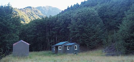 No question. This is by far the best hut on the Jollie Brook Loop. | Jollie Brook Hut, Lake Sumner Forest Park