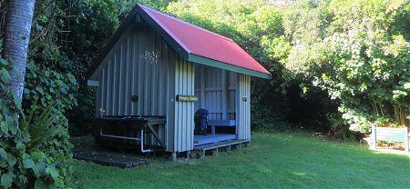 Heaphy Hut campsite, Heaphy Track, Kahurangi National Park
