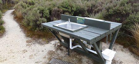 James MacKay Hut campsite, Heaphy Track, Kahurangi National Park