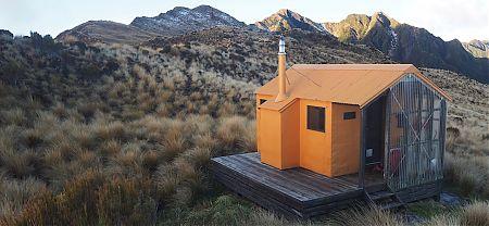 Mt Brown Hut, Lake Kaniere