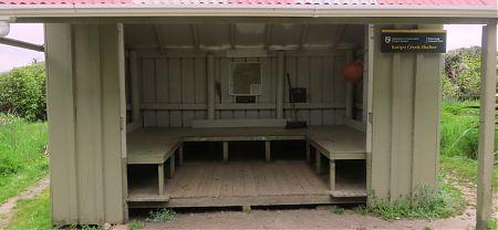 Katipo Shelter, Heaphy Track, Kahurangi National Park
