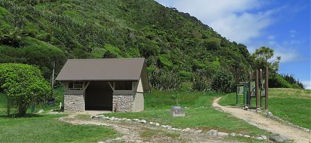 Kohaihai campsite, Heaphy Track, Kahurangi National Park