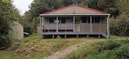 Lewis Hut, Heaphy Track, Kahurangi National Park
