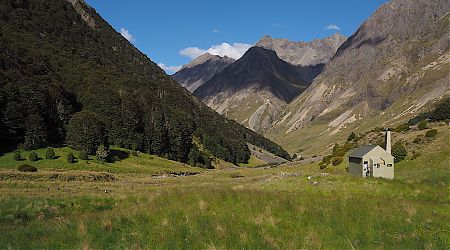 Sound of Music country here. | Paske Hut, Paske River