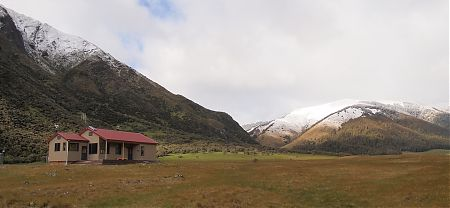 Anne Hut, St James Walkway, North Canterbury