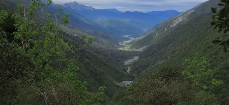 upper Taramakau River from Harper Pass, Arthurs Pass National Pass