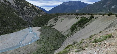 Stanley River gorge, North Canterbury